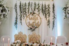 Dekoracja Pary Młodej Dyi Decorations, Engagement Decorations, Wedding Flower Decorations, Bridal Flowers, Wedding Wall, Diy Wedding, Rustic Wedding, Dream Wedding, Sparkle Wedding