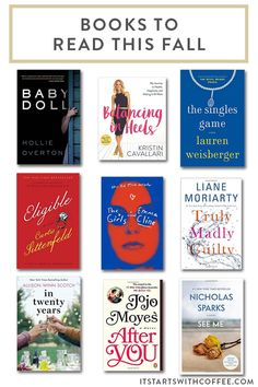great and diverse books to read this fall to cozy up with on days that reading sounds amazing these are all great choices Books To Read, My Books, The Secret Book, Book Lists, Reading Lists, Popular Books, Inspirational Books, Reading Material, Book Nooks