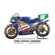 Honda nsr 250 Cardus 1990