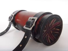 Slimline handmade leather motorcycle bicycle by cyclecosmetics, $120.00