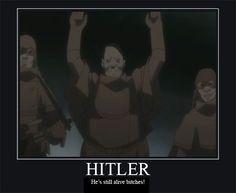 Hitler by AidanAK47.deviantart.com on @deviantART