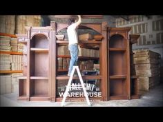 Wall Unit Warehouse™ - Tastefully designed, very large, wood entertainment centers. - YouTube