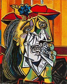 'Schreiende Frau', 1937 von Pablo Picasso (1881-1973, Spain)