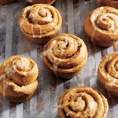 Classic cinnamon rolls get a zingy update with this citrus-glazed twist. Made with all white whole-wheat flour.