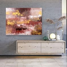 Large Palette Knife Painting Contemporary Art Wall Decor image 8 Large Wall Canvas, Extra Large Wall Art, Oversized Wall Art, Image Digital, Modern Wall Art, Contemporary Art, Abstract Canvas Art, Wall Art Decor, Wall Décor