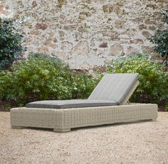 Provence Luxe Chaise. In FOG. love a lot!
