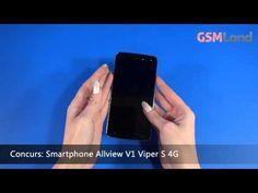 Concurs GSMLand - Castiga un smartphone Allview V1 Viper S 4G