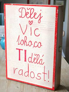 Skříňka na šperky, dárek k Vánocům Love You, My Love, Motto, Cool Art, Diy And Crafts, Presents, Lettering, Quotes, Cards