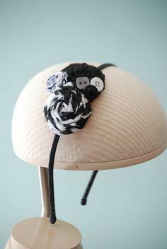 cute black headband