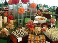 mesas de dulces salada y picosa