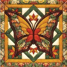 Mary Maxim - Fall Butterfly Quilt Magic Kit - Fall - Seasonal