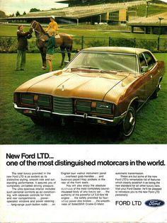73 Ford Ltd : 73-76, (Aussie), Advert, Australian, Cars,