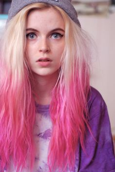 I want this! (with maybe a bit more blonde blending)