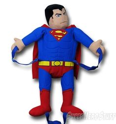 69cb5f2f50 Let Superman carry all of your things in this Superman Backpack Buddy.  School supplies
