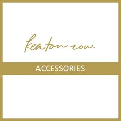 Keaton Row has a variety of bags, jewelry and shoes that will complete your summer and spring look. #KRInstyle