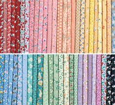 1930S FAT QUARTER QUILT FABRIC COLLECTION