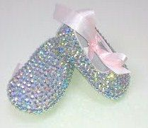 15% off ALLCustom Made Totally Blinged Pink Crib Slipper Size 0. $70.00, via Etsy. Use coupon code: SummerSale
