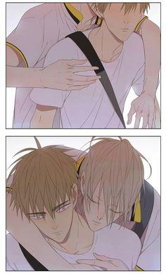 Manhwa Manga, Manga Anime, 19 Days Characters, Anime Characters, 19 Days Manga Español, Fanart, Art Story, Kawaii Chibi, Cute Gay Couples