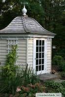 OMG - Gardensheds.com!  They have prefab adorable garden sheds!!!