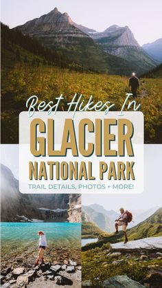 Planning a trip to Glacier National Park and want to see drop-dead gorgeous locations? We're sharing the 11 most pretty hikes in Glacier for amazing photos ops, and ways to make the most of your time in Montana! Save this post for future hiking inspiration! #montana #glacier #glaciernationalpark #hiddenlakeoverlook #summer #nationalpark #USA #roadtrip #hiking @hike @photography Glacier Bay National Park, National Parks Map, Sequoia National Park, Usa Roadtrip, Usa Travel, Park Trails, Hiking Trails, Nationalparks Usa