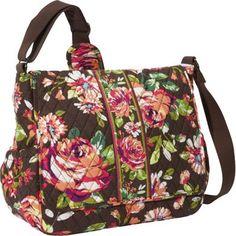 Vera Bradley Messenger Baby Bag  English Rose - via eBags.com! #NotABox #UPSHappy