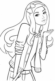 Barbie Coloring Pages Sheets Adult Book Books Movies Doodle Art For Kids More Fun Colouring In Paint Noel