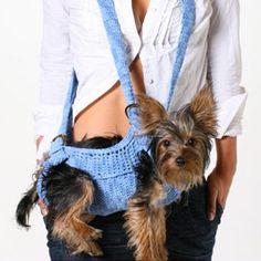 Carriers - The Puppoose Dog Sling Carrier D.O.G Pet Boutique