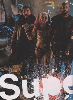 Le plein de nouvelles images pour Suicide Squad   COMICSBLOG.fr