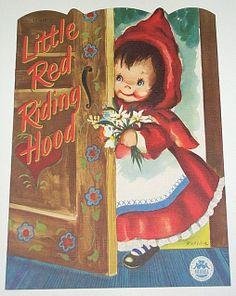 merrill company Little Red Riding Hood 1538-15 | 1951 Little Red Riding Hood Children's Book
