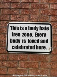 Self love! This is a body hate free zone. Every body is loved and celebrated here! Body Love, Loving Your Body, Nice Body, Daily Motivation, Fitness Motivation, Morning Motivation, Fitness Quotes, Motivation Pictures, Body Positivity