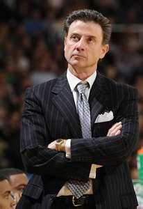 Hall of Fame Coach Rick Pitino has led his teams to seven Final Fours and two National Titles & He has the distinction of being the only coach to led three different programs to the Final Four (Providence, Kentucky, and Louisville). New York Basketball, Louisville Basketball, University Of Louisville, Basketball Coach, College Basketball, Ncaa Final Four, Louisville Cardinals, Kentucky Wildcats