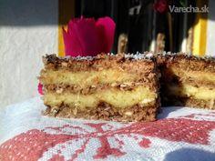 Kokosovo-lekvárový koláč (fotorecept)