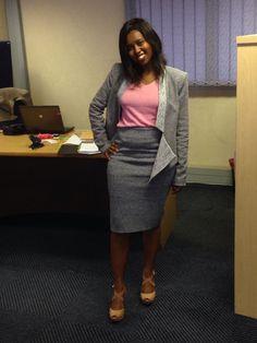 Gray and pink kinda day
