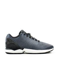 ZX Flux, Baskets Basses Mixte Adulte, Bleu (Blue/Blue/Footwear White), 37 1/3 EUadidas