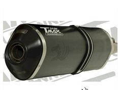 "Pot Giannelli ""T-MAX DARK"" Ligne complete Silencieux Aluminium Dark Homologue Yamaha TMAX / T-MAX 530 (a partir de 2012)T-MAX 530 4t LC inject (à partir de 2012)"