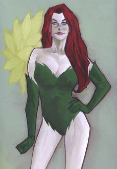 Phil Noto - Poison Ivy Comic Art
