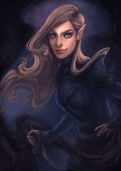 Feyre of the Night Court by dianulala