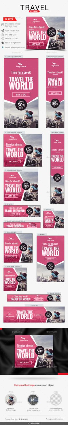 travel brochure cover design beautiful travel banner design unbelievable graphs logo ideas tech fresh of travel brochure cover design Banner Design Inspiration, Web Banner Design, Design Nike, Ad Design, Banner Template, Cover Design, Banners Web, Logos Retro, Travel Ads