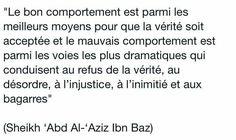 Le bon comportement Sheikh Ibn Baz