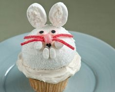 Easter Bunny Cupcake Recipe   The Daily Meal