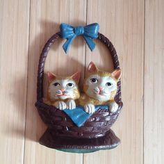 Doorstop of Cats in cast iron by BlkBttrflyDsgns on Etsy