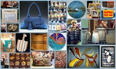 The Very Merry Holiday Fair Tapestry Fabric, Art Fair, Artisan, Merry, Studio, Daughters, Creative, Holiday, Handbags