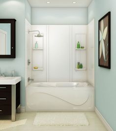 MAAX Tub Installation | TSTEA60 Alcove or Tub showers bathtub ...