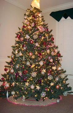 Princess Christmas Tree - Pink and White