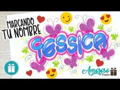 DECORANDO UN NOMBRE CON LETRA TIMOTEO (Amoroso Regalos) - YouTube Lettering Guide, Projects To Try, Calligraphy, Letters, Videos, Creative, Diy, China, Youtube