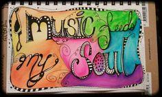 #Music feeds my #soul By amiekyte