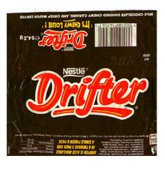 Tasted my first Drifter in the early and remember the advert with the roller skating girl and wanted to be her! Old Sweets, Vintage Sweets, Retro Sweets, Vintage Toys, Retro Food, 1980s Childhood, My Childhood Memories, Sweet Memories, 90s Food