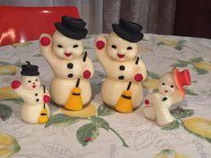 Old Fashioned Christmas, Christmas Past, Christmas Snowman, Christmas Crafts, Green Christmas, Retro Christmas Decorations, Vintage Christmas Ornaments, Rustic Christmas, Vintage Decorations