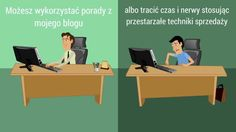 Filmik na którym pokazuję czym zajmuję się na blogu Perswazjawsprzedazy.pl