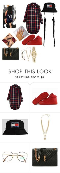 """""""Untitled #10"""" by jazzooo ❤ liked on Polyvore featuring Chicnova Fashion, NIKE, Rolex, Vince Camuto, Benetton, Yves Saint Laurent, women's clothing, women, female and woman"""